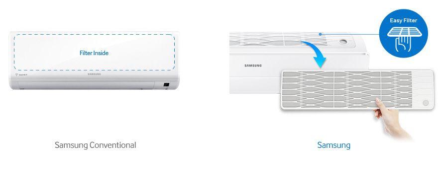 Samsung AR12NXWSAURNEU filtru